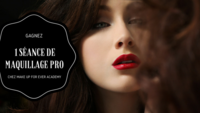 Gagnez 1 séance de maquillage professionnelle chez Make Up For Ever Academy