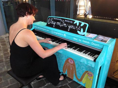 play me, I'm yours : les pianos de retour à Paris