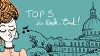 LE TOP 5 DU WEEK-END DU 8 AU 10 JANVIER 2016