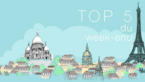 Top 5 du week-end !