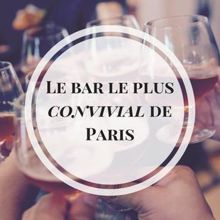 Le bar le plus convivial de Paris